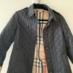 Burberry Brit Quilted Coat size M